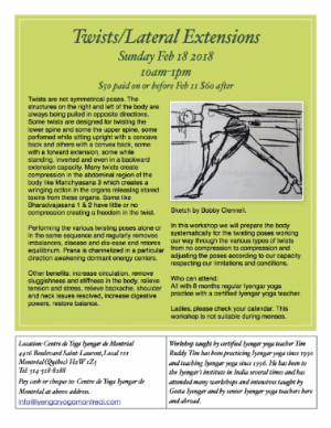 Twists Sun Feb 18 10am-1pm