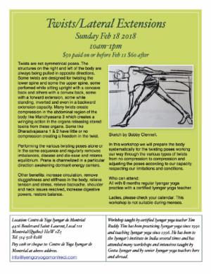 Twists Sun Feb 18 10am-1pm